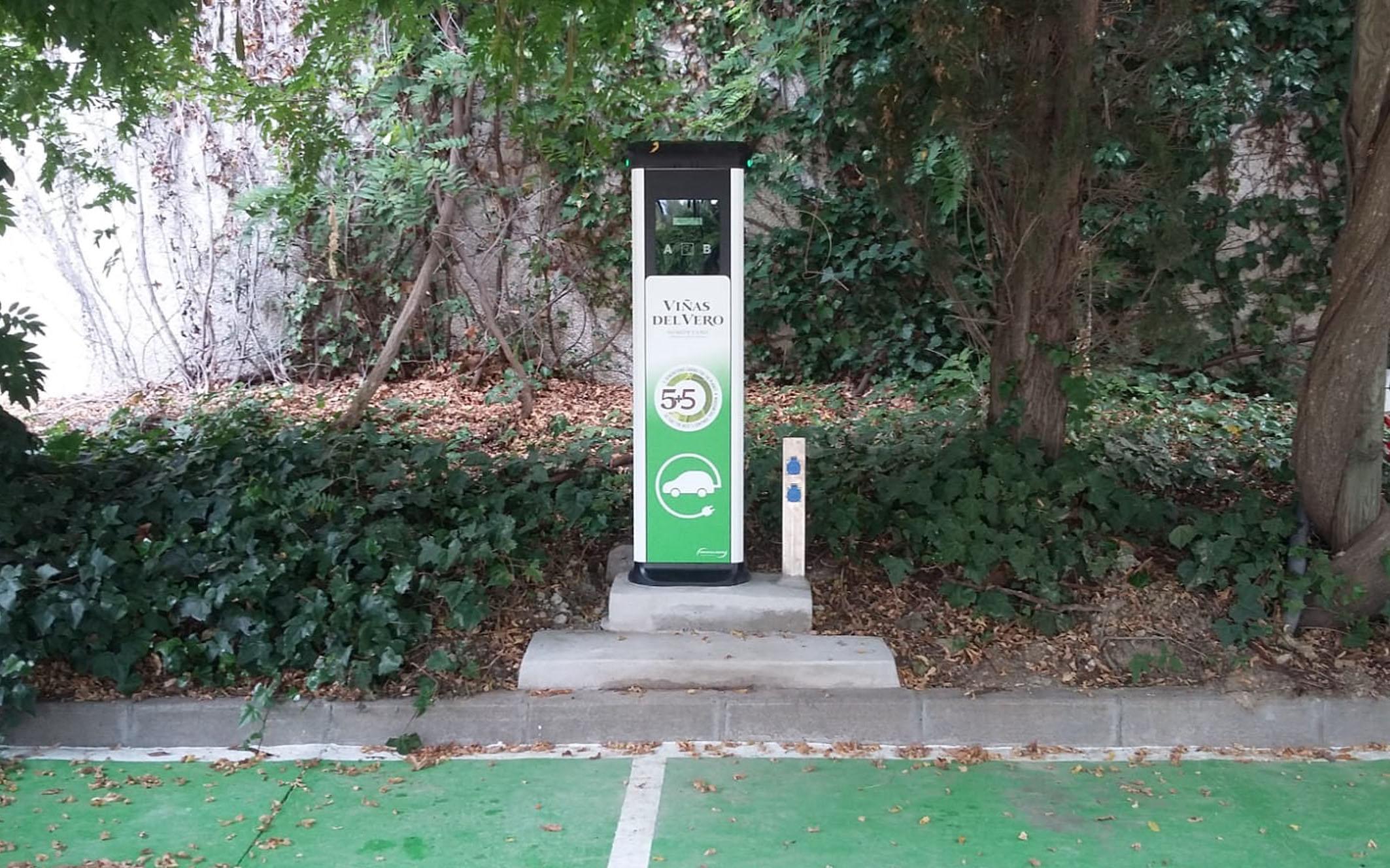 EV Charging point_Viñas del Vero