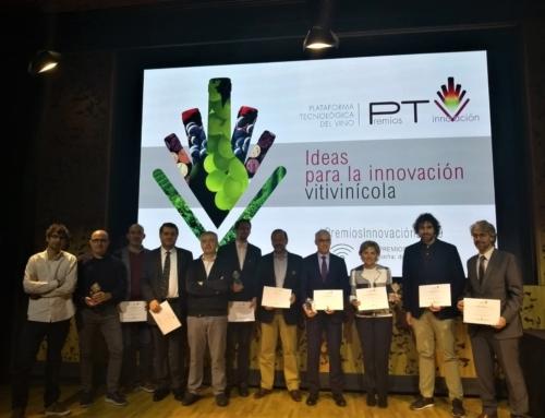 """El proyecto LIFE REWIND, uno de los 3 finalistas de los """"Premios Innovación 2019"""", otorgados por la Plataforma Tecnológica del Vino."""