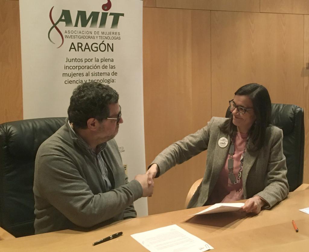 Firma convenio INTERGIA-AMIT