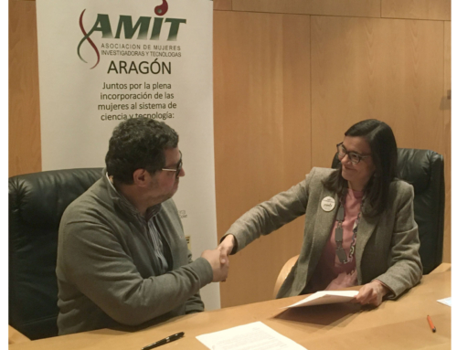 "Intergia signs agreement with the Association of Women Researchers and Technologists (AMIT) of Aragon, and joins the initiative ""An engineer girl in every school"""