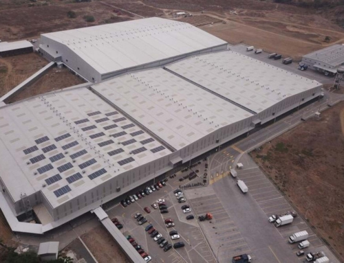 The 500 kW photovoltaic system at a Distribution Centre in Guayaquil (Ecuador) is now half a year old