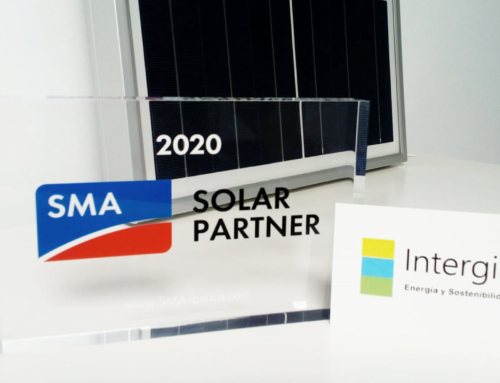 Intergia is accredited as one of SMA's Solar Partners